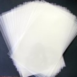 "Stencil Ease Blank 12"" X 18"" Sheets Of Durable Reusable 4 Mil Mylar - 50 Sheets Per Pack"