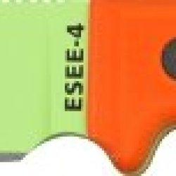 Esee Mdl 4 Plain Edge Fxd Blde Knife, 4.5In, Drop Point, Orange G10 Hdl Esee 4P-Vg