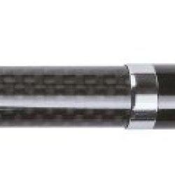 Zippo Moshannon Carbon Fiber/Gloss Rollerball Pen, Black