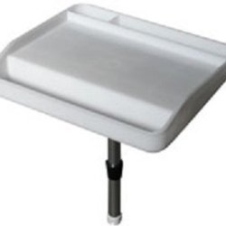 New -Deluxe Bait Cutting Board / Filet Table-Free Adjustable Mounting Support Leg Included