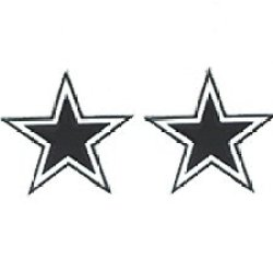 Studded Nfl Earrings - Dallas Cowboys Studded Nfl Earrings - Dallas Cowboys