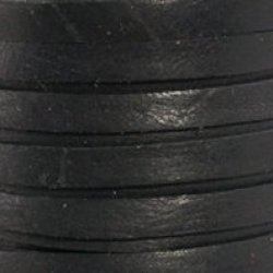 """Black Deerskin Lace - 1/8"""" X 50 Ft"""