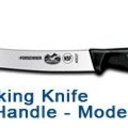 "8"" Breaking Knife - Black Fibrox Handle #40537"