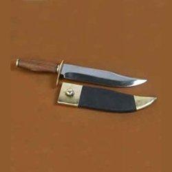 Deepeeka #Ah3199 Bowie Knife With Wood Handle