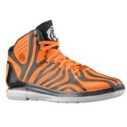 Adidas Mens Derrick Rose Rose 4.5 13 M Us Carbon/Solar Zest/Mid Grey