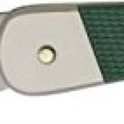 Puma Master Folding Knife,4.875In Closed,Clip Blade,Green Abs Handle 230470