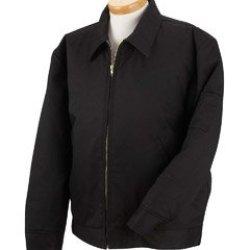 8 Oz. Lined Eisenhower Jacket Dark Navy - L