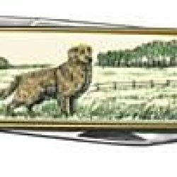 Golden Retriever Pocket Knife