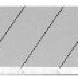 Olfa 5015 Ab-50B 9Mm Snap-Off Silver Blade, 50-Pack