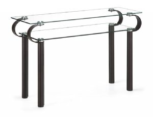 Image of Cooper Glass Console Table (B008AZ1KSS)