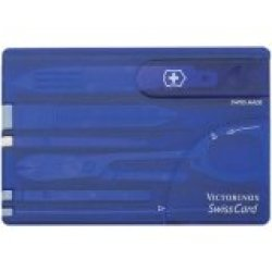 Swisscard Translucent Sapphire Swisscard Translucent Sapphire