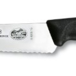 Victorinox Swiss Classic 6-Inch Wide Utility Knife, Serrated
