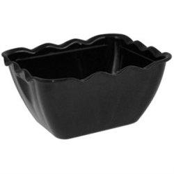 Salad Crocks - Black Small. 0.75 Litre. 85(H) X 165(W) X 135(D)Mm.