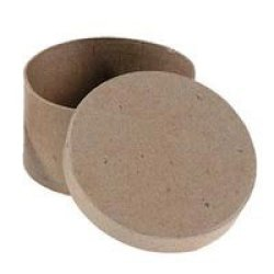 Paper Mache Oval Box - Pack Of 3