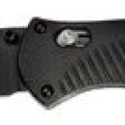 Benchmade 580Bk Barrage Drop Point Black Bk1 Coated Plain Edge Blade