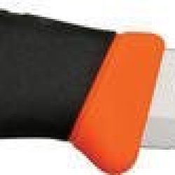 Mora Of Sweden Knives 11828 Part Serrated Clipper Companion F Fixed Blade Knife With Blaze Orange Composition Trimtextured Black Rubber Handles