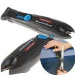 As Seen On Tv Samurai Shark Serrated Knife Sharpener Household Tool Kit