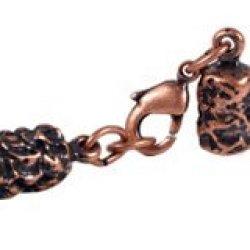 "4.7Mm (5/32"") Copper Glu-N-Go End Caps, Jewelry Findings-Clasps"
