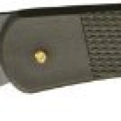 Puma Knives 77352020 Part Serrated Bead Blast Tec Large Lightweight Lockback Knife With Checkered Olive Drab Composition Handles