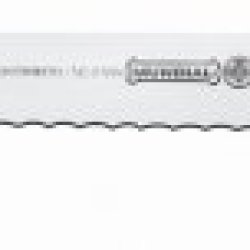 Mundial W5627-12E 12-Inch Serrated Edge Slicing Knife, White