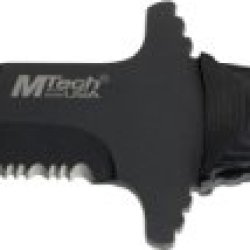 Mtech Usa Mt-630Bk Fixed Stainless Steel Blade Knife, 9.5-Inch