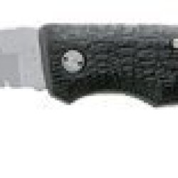 Gerber 06151 Folding Gator-Mate - Clip Point, Serrated