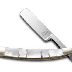 Steel Warrior Genuine Mother Of Pearl Razor Stainless Pocket Knife Knives