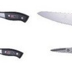 Dawn Sink Accessories-For Ast3322: Alk322 Large Size Knife, Amk322 Medium Size Knife, Ask322 Small Size Knife, And Asc322 Scissors-Knife Shelf And Knife Set (Stainless Steel)