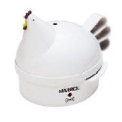 Maverick Sec-2 Henrietta Hen Egg Cooker, White