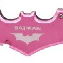 Batman Double Blade Batman Bat Folding Pocket Knife - Pink