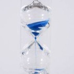 G.W. Schleidt Stc8002-B Newton Gravity Glass Timer 2 Minute Blue Sand 8-Inch