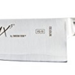 "Mercer Culinary M16150 Premium San Mai Vg-10 Mx3 Series, Steel Core Blade, 185Mm, 7"", Santoku, Black"