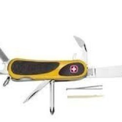 Wenger Evogrip 11 Yellow Swiss Army Knife