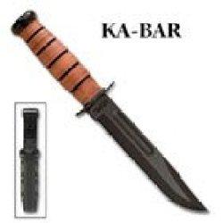Usmc Fighting Knife, 7 In., Plain, Nylon Sheath - Ka-Bar Knives