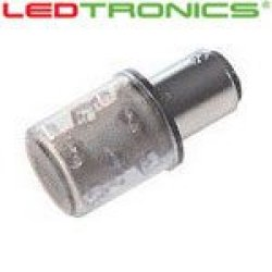 Ledtronics Stl602-06-02, Led Bulb (Pack Of 2) For Machine Status Indicators, White, 120Vac