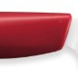 Kyocera Revolution Series 3-1/7- Inch Paring Knife With Red Handle, White Blade