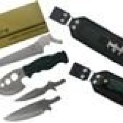 Ultimate Zombie Survival Knife Kit With Interchangeable Tips
