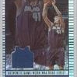 Dirk Nowitzki Dallas Mavericks (Basketball Card) 2002-03 Topps Jersey Edition #Je Dn