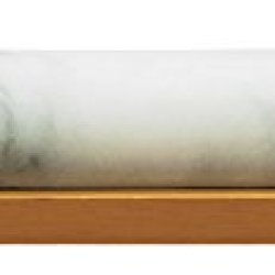Fox Run White Marble Rolling Pin W/Wood Stand
