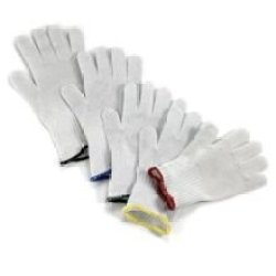 Tablecraft The Protector Large Blue Cuff Cut-Resistant Fillet Glove -- 1 Each.