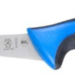 "Mercer Culinary Primary4 6"" Curved Boning Knife, Blue"