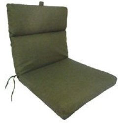Chair Cushion In Solid Olive