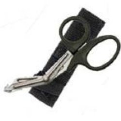 New Safety And Rescue Scuba Diver Emt Scissors Shears With Sheath - Black