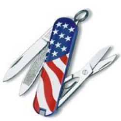 Victorinox Swiss Army Classic Sd Us Flag Knife