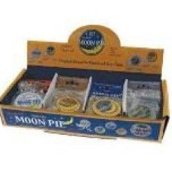 Moon Pie - Silver - Keychain Pocket Knife Set - One Single Keychain (Not A Box)