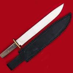 Frontier Rifleman Knife With Leather Sheath