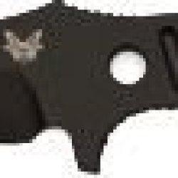 Benchmade Adamas Fixed Blade Knife Black Coated Blade / Black Sheath Plain Edge