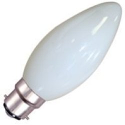 Eveready 10 X Candle 25W Bc (Bayonet Cap) Opal Lamp - [Eu Specification: 220-240V]