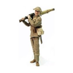 "1/6 Scale Bayonets And Barbed Wire Series 2 World War 1 Wwi Brittish Lewis Gunner 1St Battailion Lancashire Fusiliers, 29Th Division 12"" Action Figure (2001 Sideshow)"