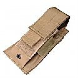 Condor Ma32-007 Molle Single Double Stack Pistol Mag Pouch, Acu